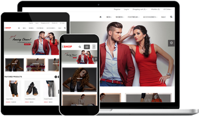 Responsive Web Design E-Shop